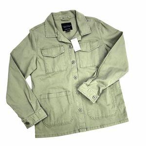 Sanctuary | Anthro Military Green Utility Jacket